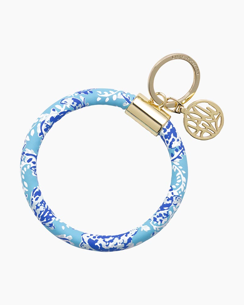 Lilly Pulitzer Key Chain Ring