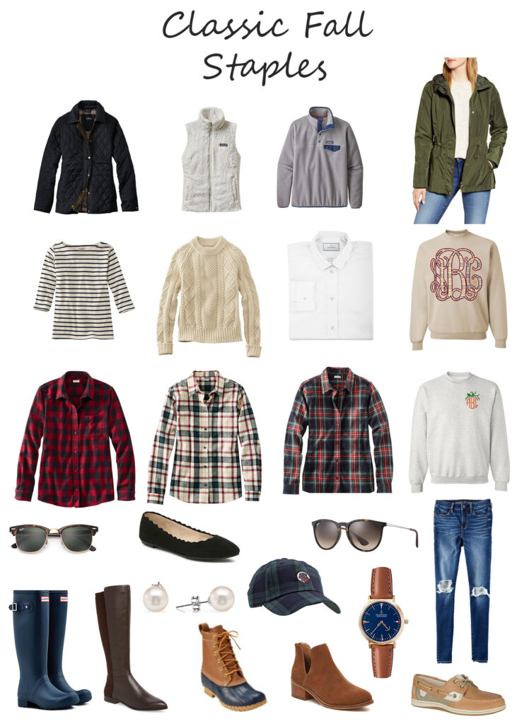 Classic Fall Wardrobe Staples