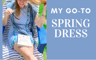 my go to spring dress