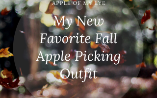 my new favorite fall apple picking outfit